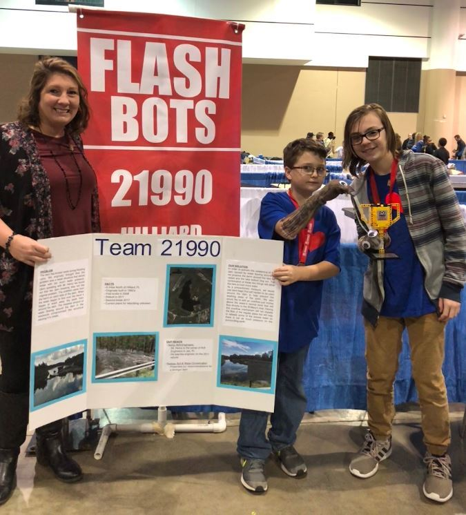 Hilliard Middle School's FlashBots