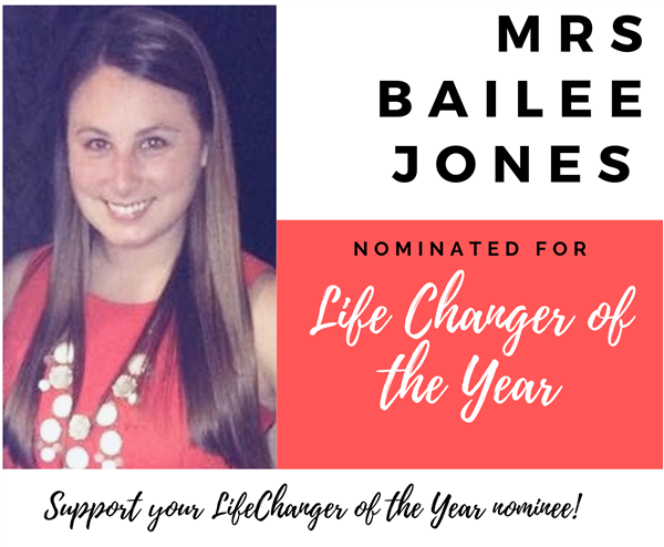 Support your LifeChanger of the Year nominee!