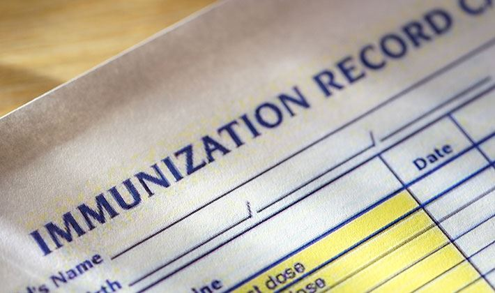 Required Immunization for 7th Grade Students