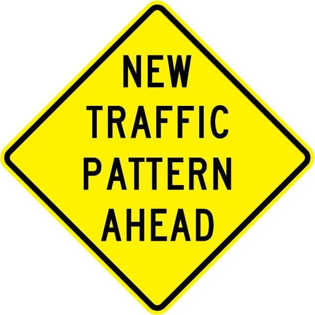 Updated Traffic Pattern: Student Drop Off & Pick Up