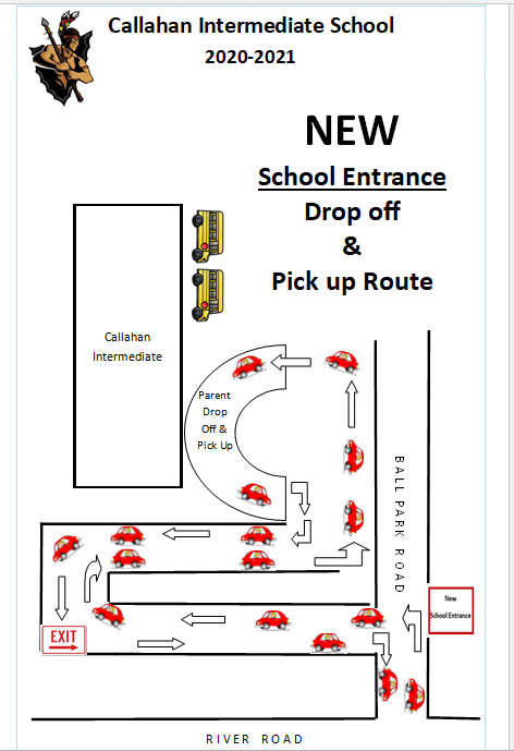 New School Drop Off & Pick Up Route