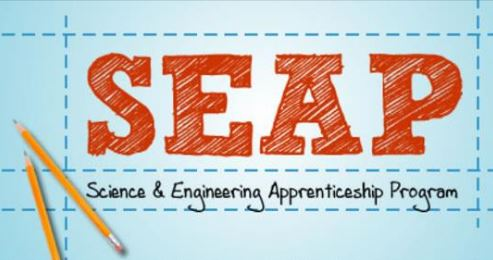 2019 SEAP Application is open!!! The application for the 2019 Science and Engineering Apprenticeship Program has officially opened.