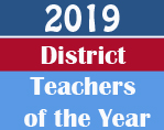 2019 Teachers of the Year logo