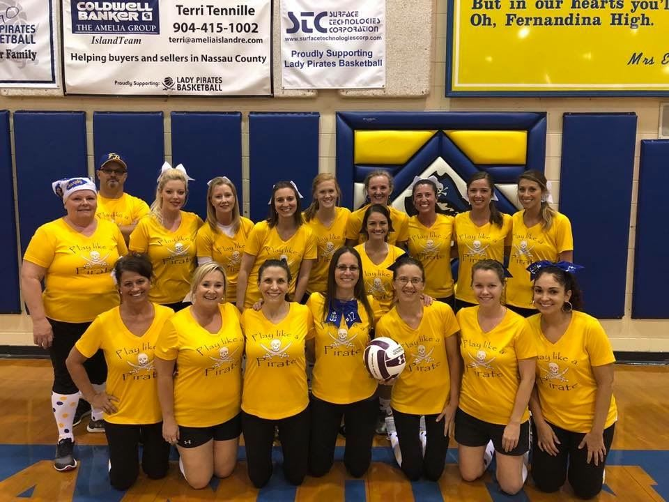 Southside's Faculty Volleyball Team beats Emma Love for the 3rd year in a row!